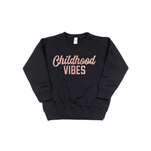 Childhood Vibes - Pullover-Little Hooligans Co.