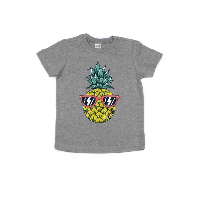 Pineapple (Full Color) - Kids Tee-Little Hooligans Co.