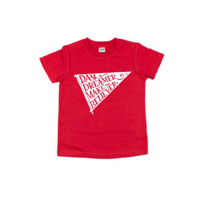 Day Dreamer - Red Tee - Little Hooligans Co.