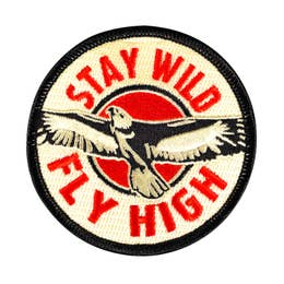 Fly High - Iron-On Patch-Little Hooligans Co.