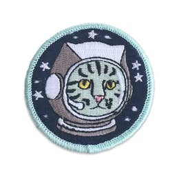 Catstronaut - Iron-On Patch-Little Hooligans Co.