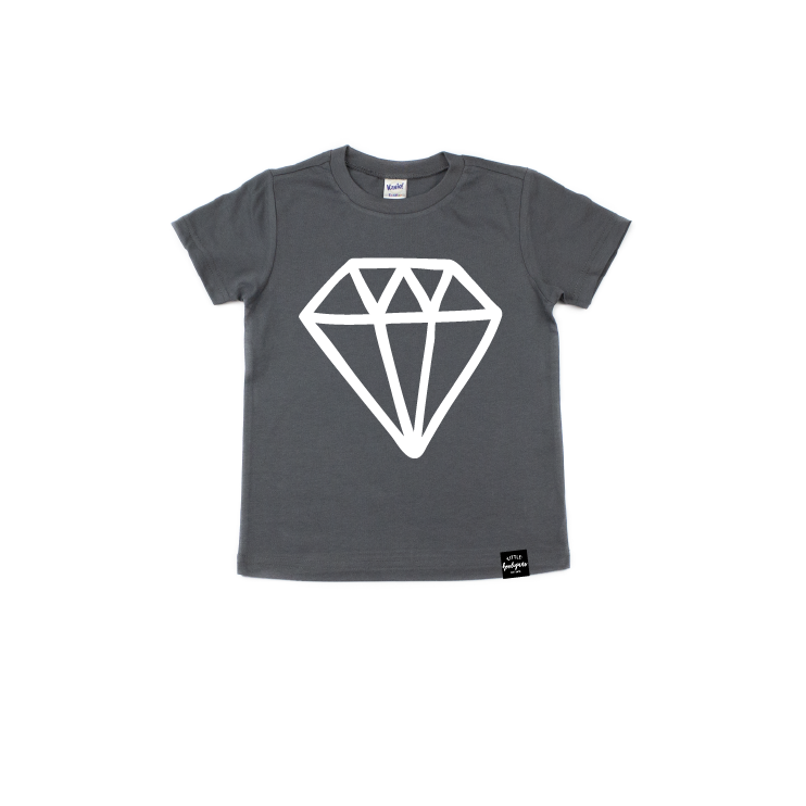 Diamond - Kids Tee-Little Hooligans Co.