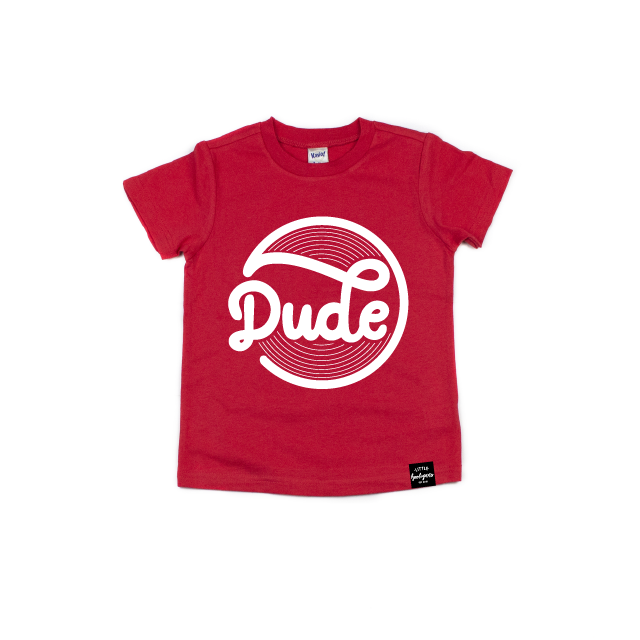 Dude - Kids Tee-Little Hooligans Co.