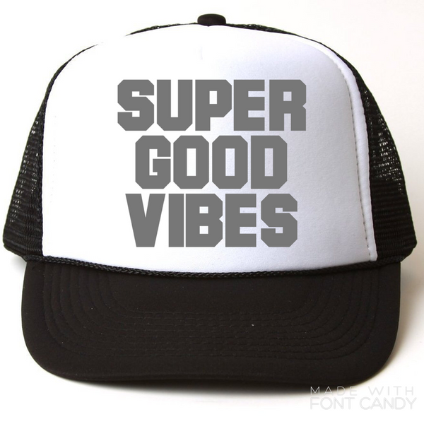 Good Vibes - snapback-Little Hooligans Co.