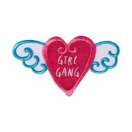 Girl Gang - Iron-On Patch-Little Hooligans Co.