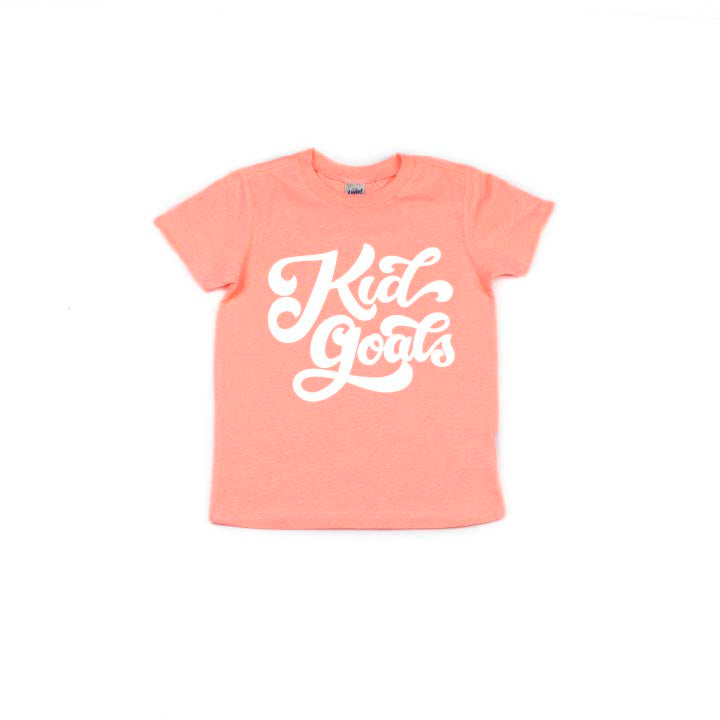 Kid Goals - Kids Tee-Little Hooligans Co.