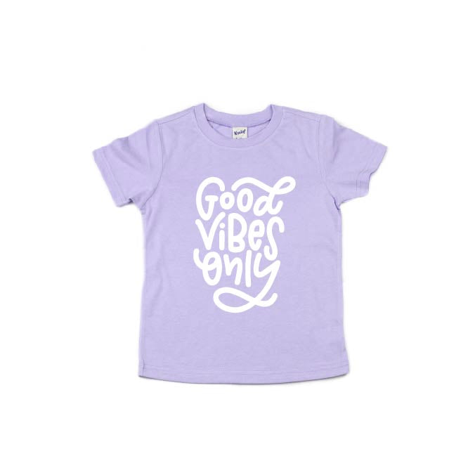 Good Vibes Only - Kids Tee-Little Hooligans Co.
