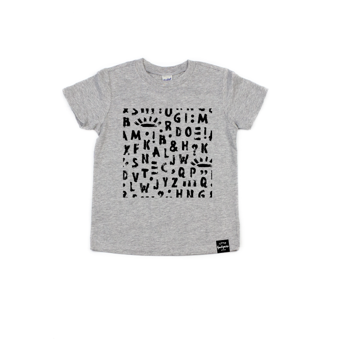 Alphabet - Kids Tee-Little Hooligans Co.