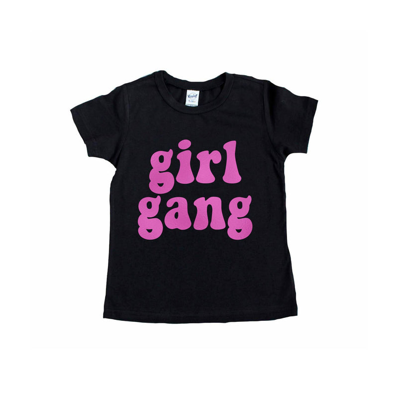 Girl Gang (Groovy) - Kids Tee - Little Hooligans Co.