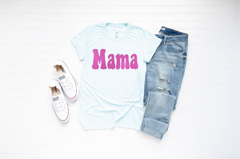 Mama (Groovy) - Unisex Crew Neck-Little Hooligans Co.