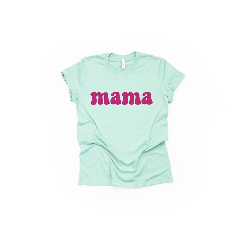 Mama (Groovy) - Unisex Tee-Little Hooligans Co.