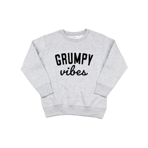 Grumpy Vibes - Pullover-Little Hooligans Co.