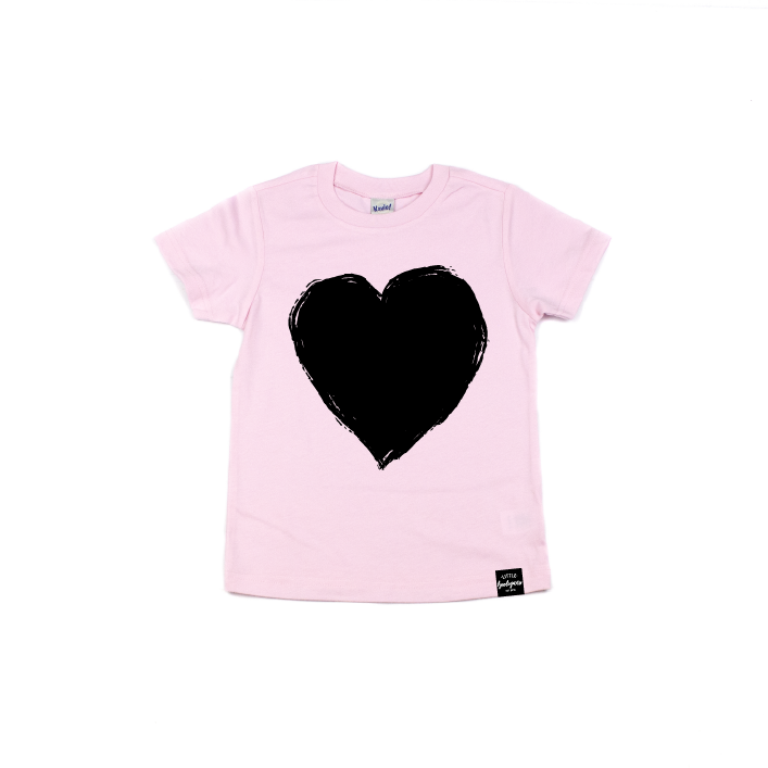 Grunge Heart - Kids Tee-Little Hooligans Co.