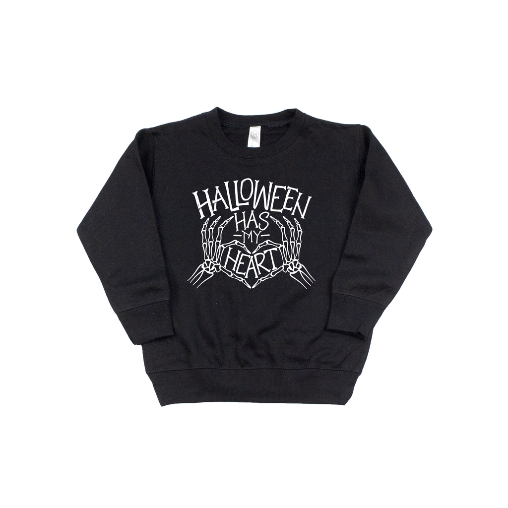 Halloween Has My Heart - Kids Pullover-Little Hooligans Co.