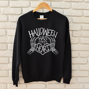 Halloween Has My Heart - Unisex Pullover-Little Hooligans Co.