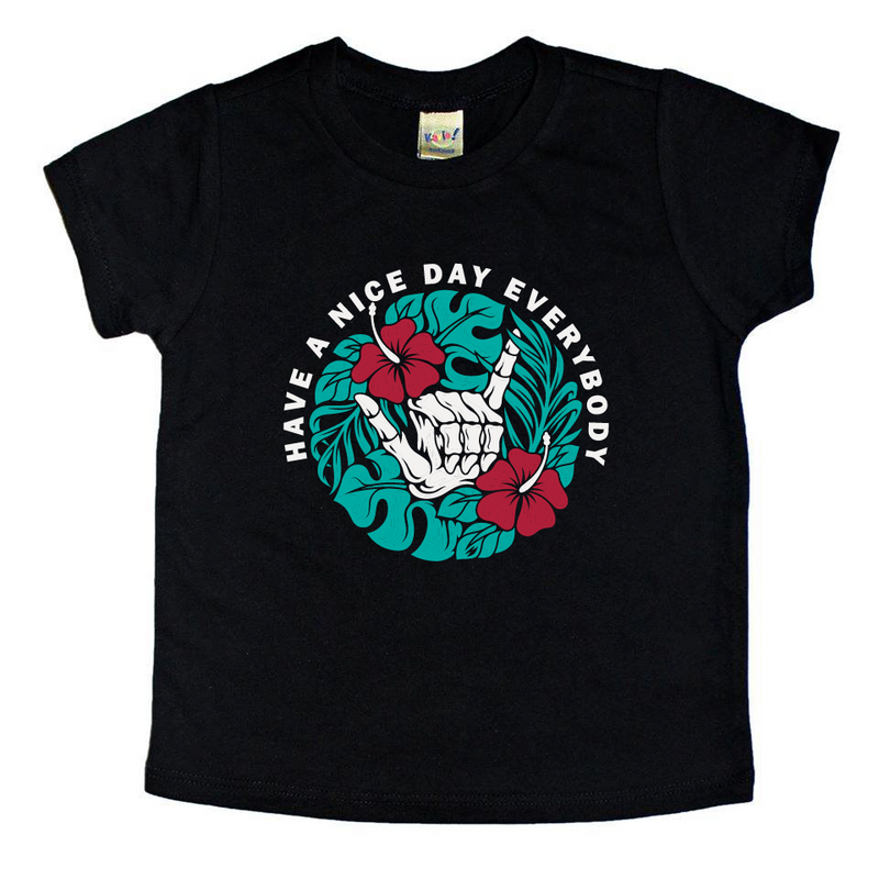 Have A Nice Day (Full Color) - Kids Tee-Little Hooligans Co.