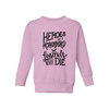 Heroes Get Remembered - Kids Fleece - Little Hooligans Co.