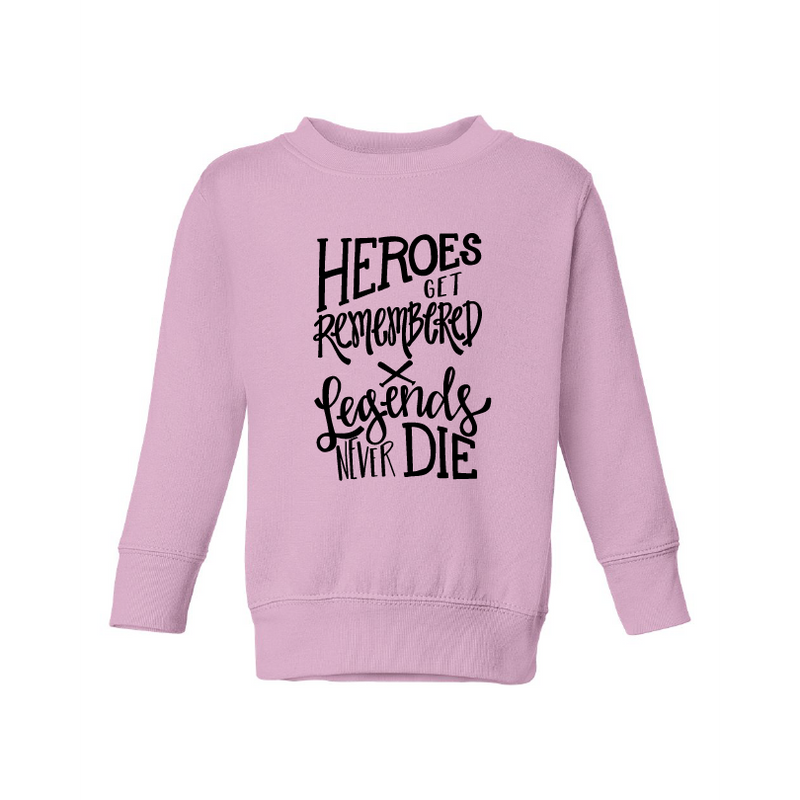 Heroes Get Remembered - Kids Fleece-Little Hooligans Co.