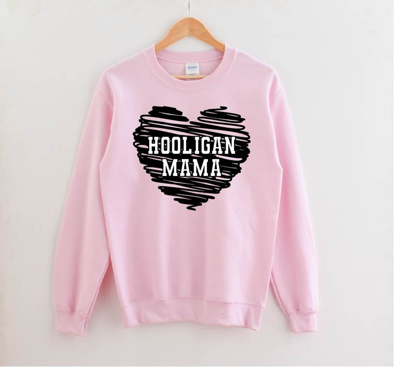 Hooligan Mama - Unisex Pullover-Little Hooligans Co.