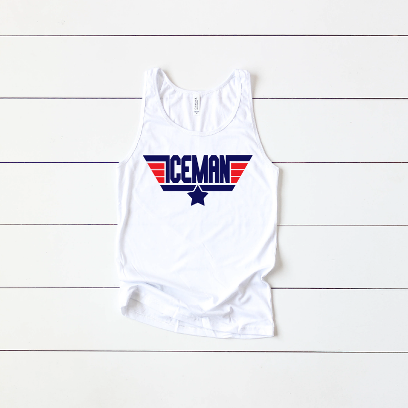 Iceman Wing Man - Unisex Tank-Little Hooligans Co.