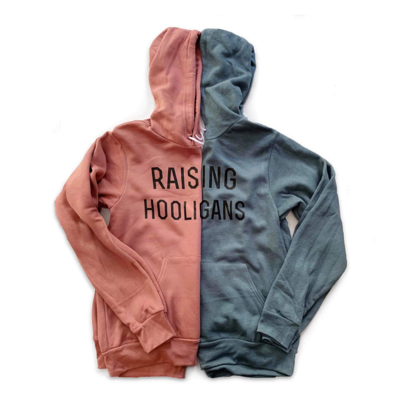 Raising Hooligans - Unisex Fleece Hoodie - Little Hooligans Co.