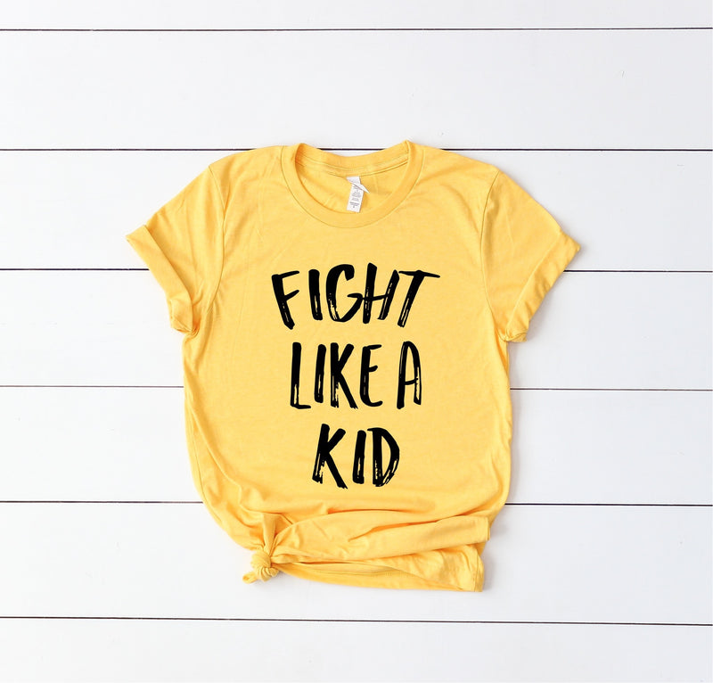 Fight Like A Kid - Unisex Crew Neck-Little Hooligans Co.