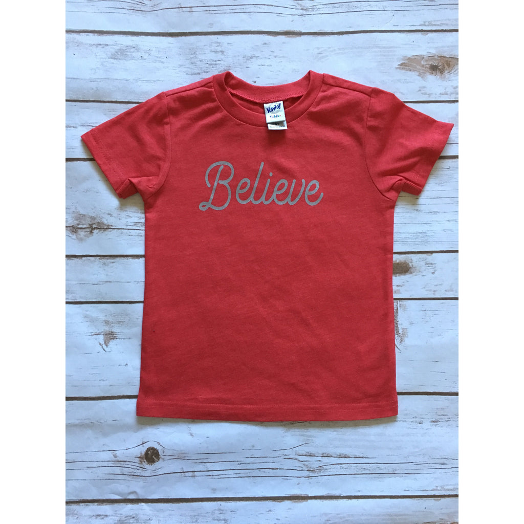 Believe - Kids Tee - Little Hooligans Co.