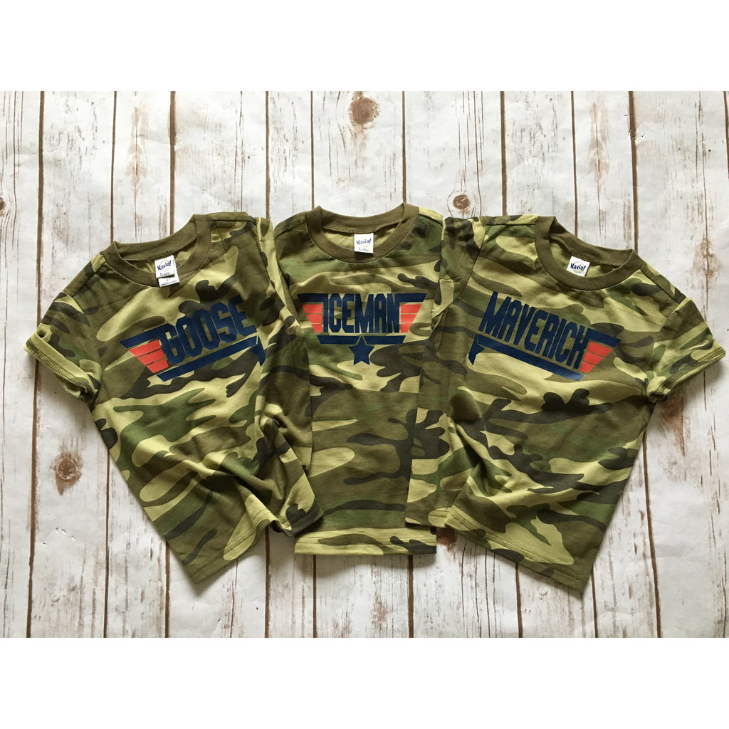 Camo Wing Man - Kids Tee-Little Hooligans Co.