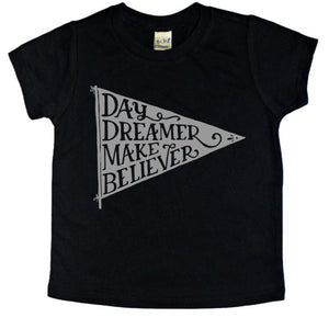 Day Dreamer, Make Believer - Kids Tee-Little Hooligans Co.