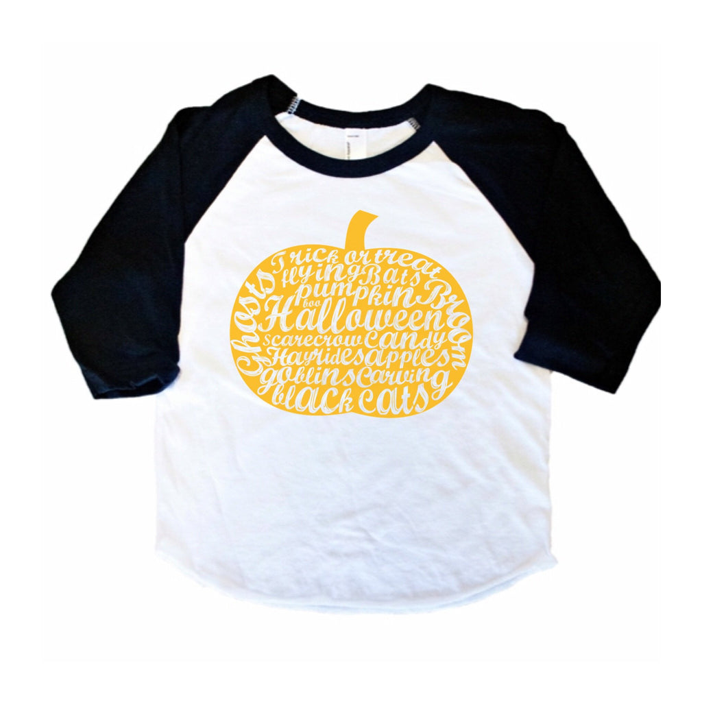 Fall things - Kids 3/4 Sleeve Raglan - Little Hooligans Co.