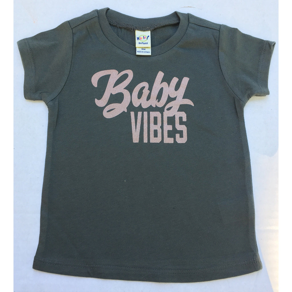 Baby Vibes - Rose Gold - Little Hooligans Co.