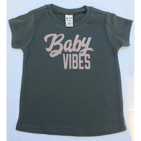 Baby Vibes - Rose Gold-Little Hooligans Co.