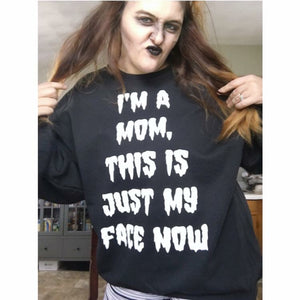I'm A Mom, Halloween - Pullover-Little Hooligans Co.