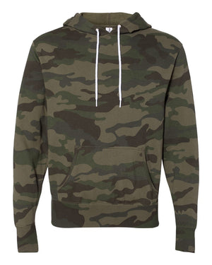 Unisex Camo Fleece Hoodie-Little Hooligans Co.