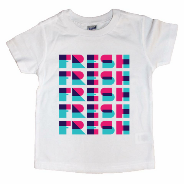 Neon Fresh - Kids Tee-Little Hooligans Co.