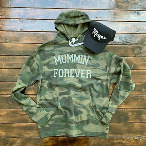 Mommin' Forever - Unisex Fleece Hoodie-Little Hooligans Co.