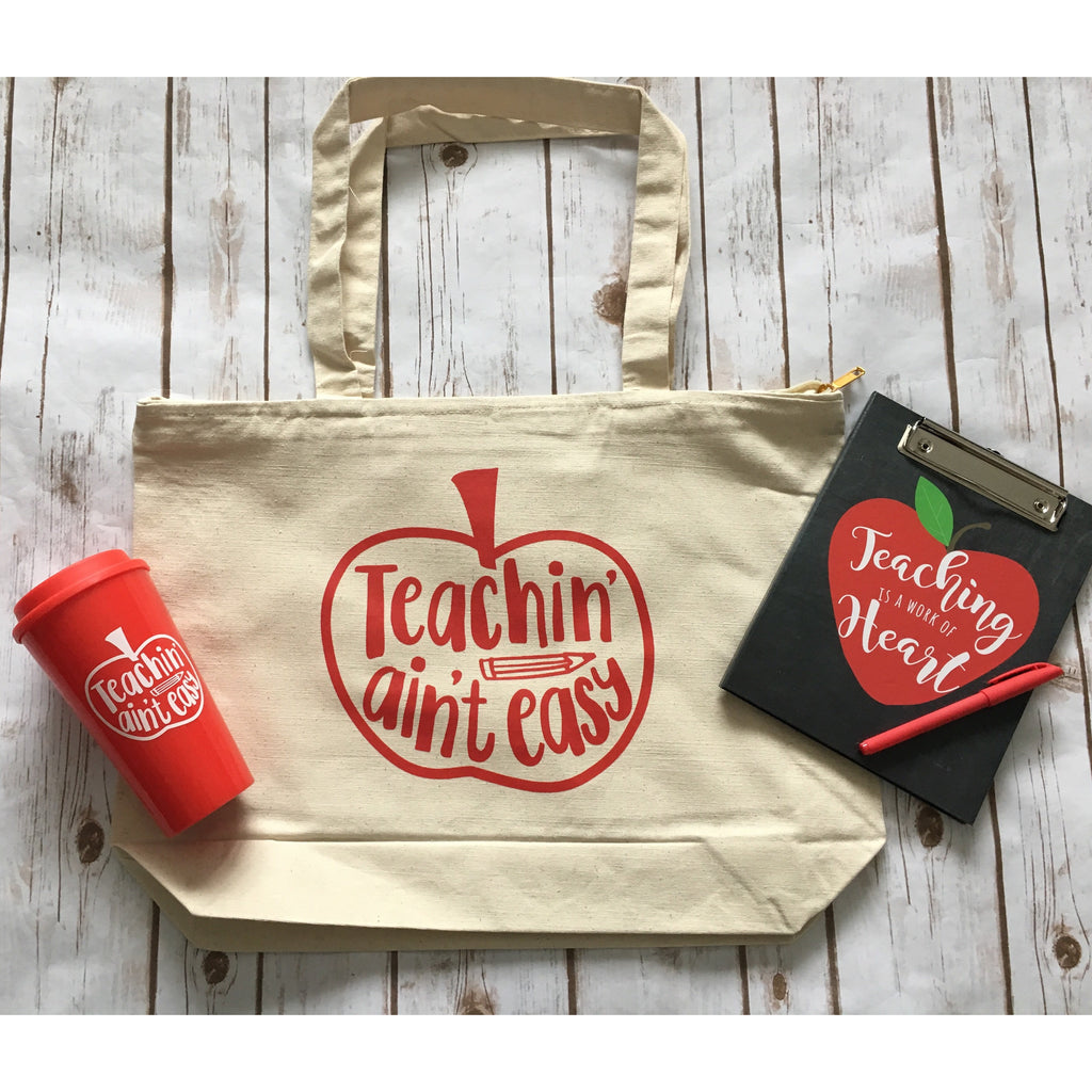 Teachin' Ain't Easy - Tote-Little Hooligans Co.