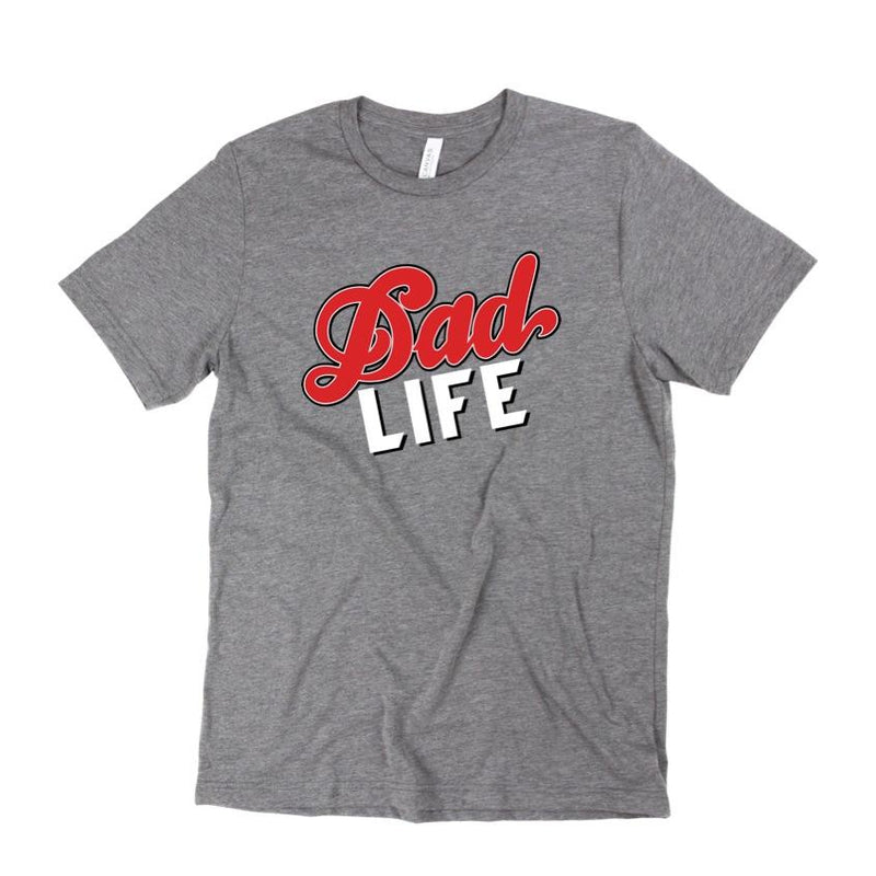 Dad Life - Unisex Triblend Tee-Little Hooligans Co.