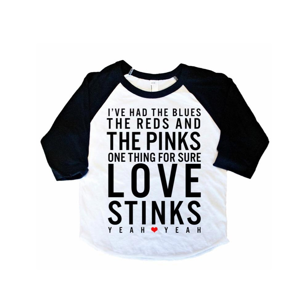 Love Stinks - Kids Raglan-Little Hooligans Co.