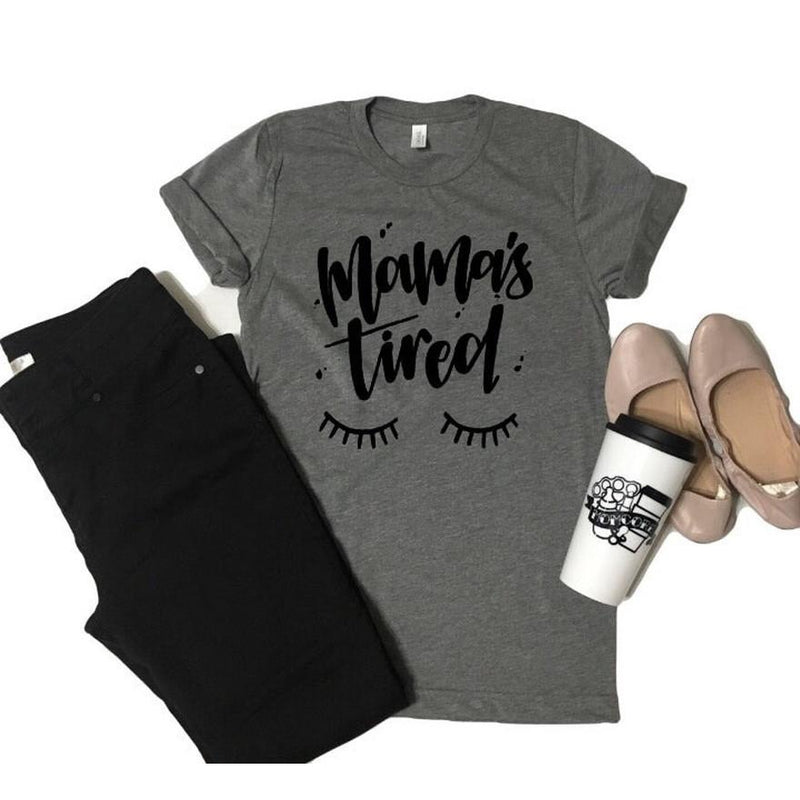 Mamas Tired - Tee-Little Hooligans Co.