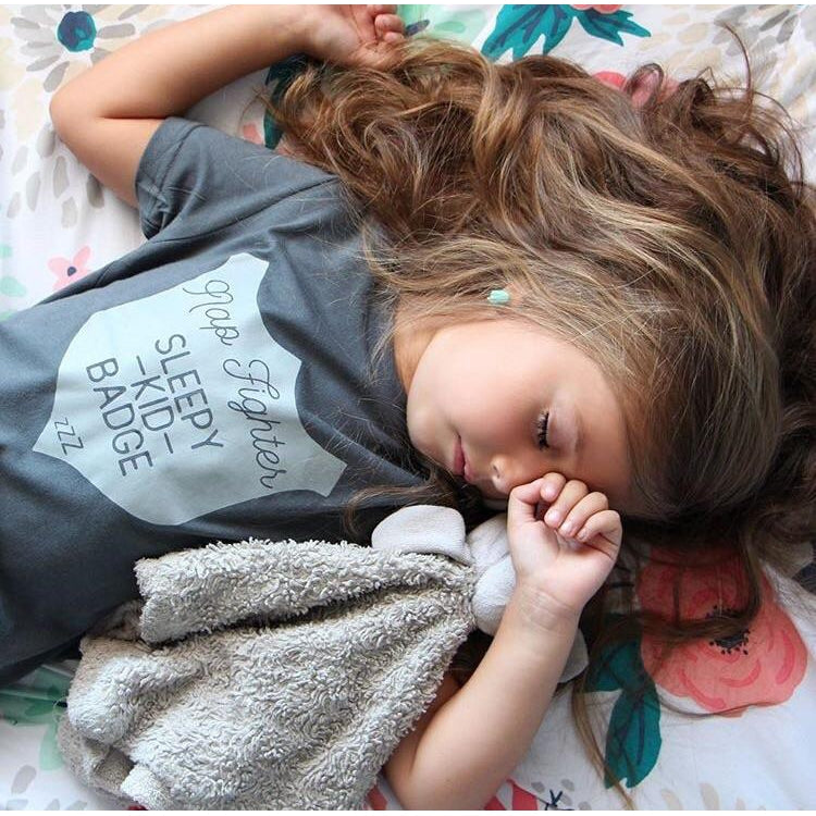 Nap Fighter - Kids Tee-Little Hooligans Co.