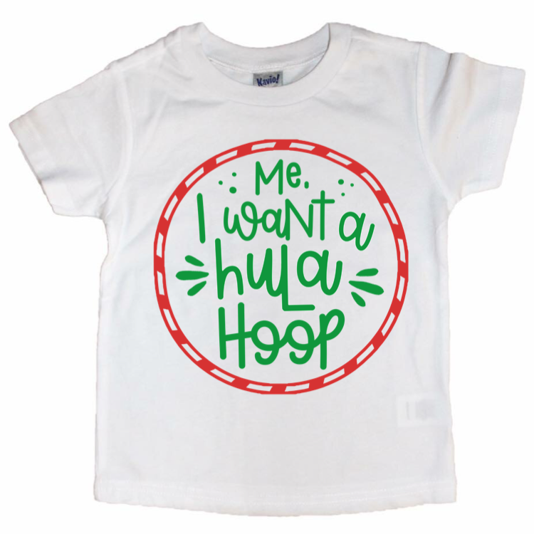 Hula Hoop Tee - Kids {pre-order}-Little Hooligans Co.