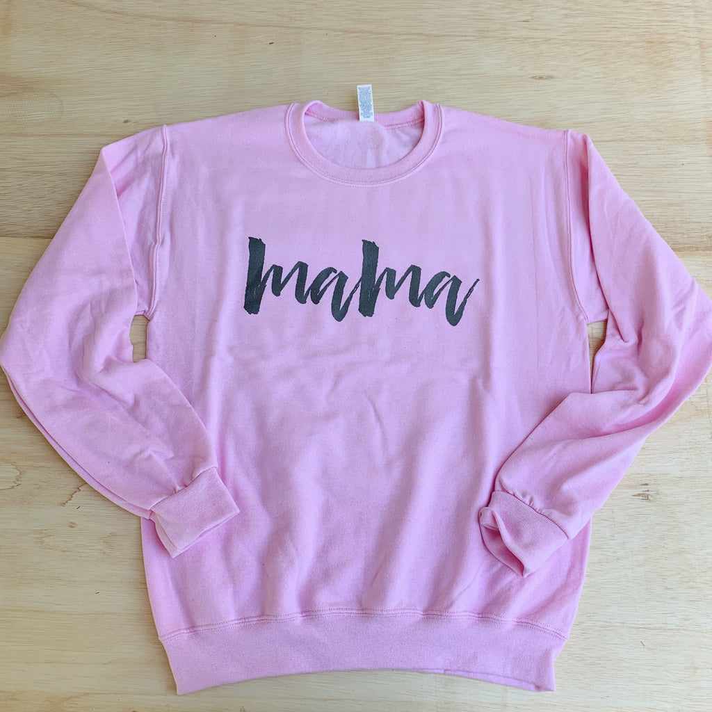 Mama - Unisex Pullover-Little Hooligans Co.