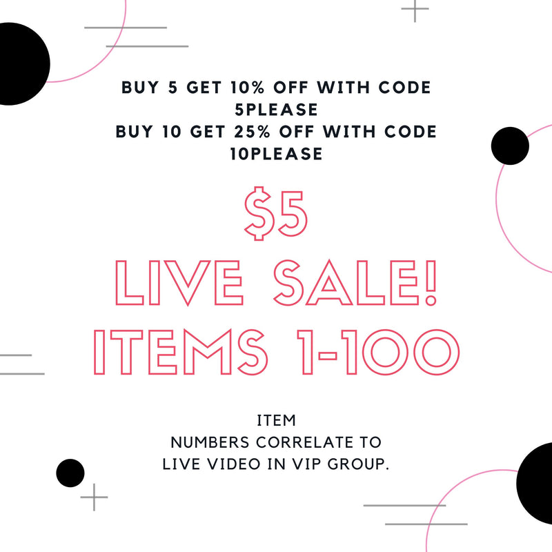 LIVE VIDEO SALE-Little Hooligans Co.