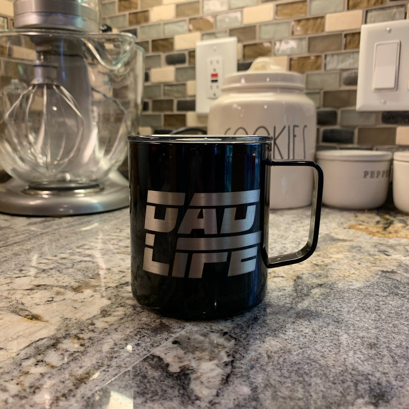 Dad Life - Stainless 12oz Mug-Little Hooligans Co.