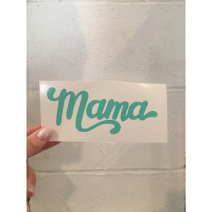 Mint Mama - Vinyl Decal-Little Hooligans Co.