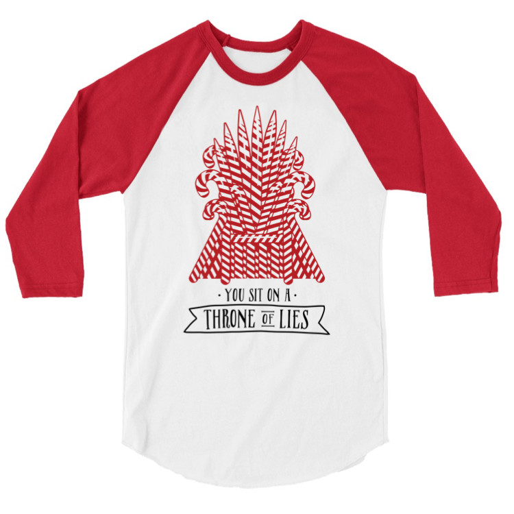 Throne of Lies - Adult Raglan {pre-order} - Little Hooligans Co.