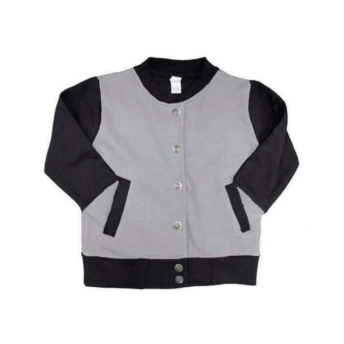 Kid Goals - Kids Varsity Jacket-Little Hooligans Co.