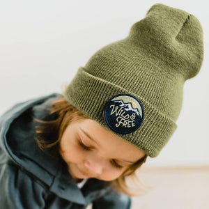 Wild and Free - Infant/Toddler Beanie-Little Hooligans Co.
