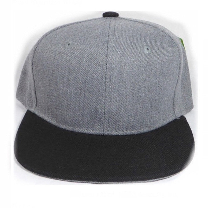 Grey & Black snapback - Little Hooligans Co.